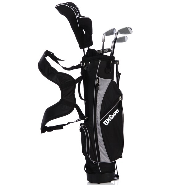 Wilson Jr Profile Black 6-piece Golf Set