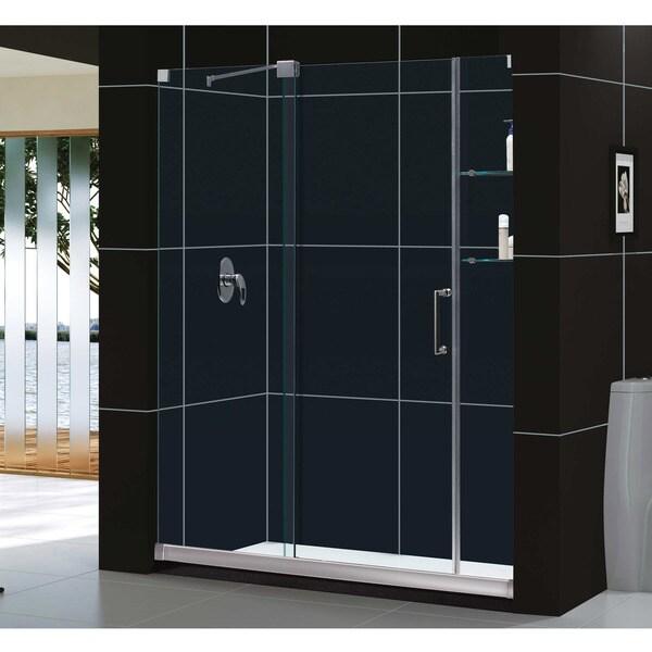 DreamLine Mirage 56 to 60-inch Frameless Sliding Shower Door