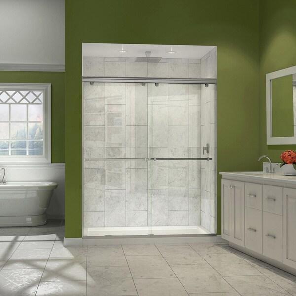 Shop Dreamline Charisma 56 60x72 Inch Frameless Bypass Sliding Shower Door Free Shipping Today