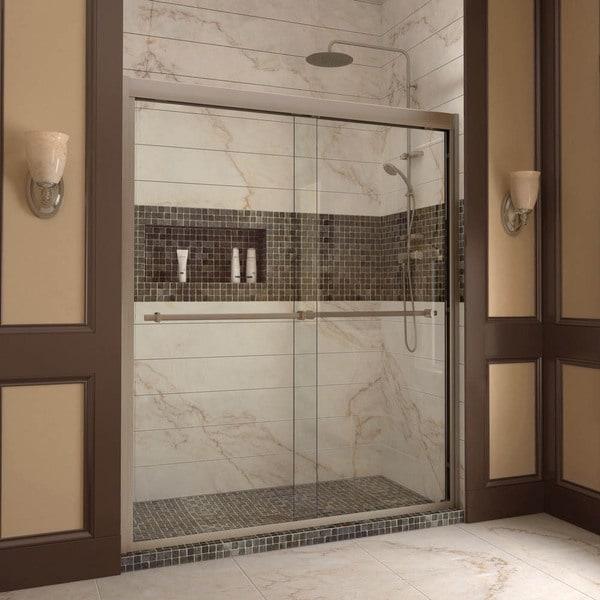 Dreamline Duet 56 60 Inch Frameless Byp Sliding Shower Door