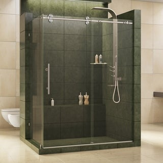 DreamLine Enigma 36 x 60.5-inch Fully Frameless Sliding Shower Enclosure
