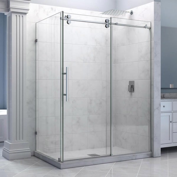 Dreamline Enigma 36 X 60 5 Inches Fully Frameless Sliding Shower Enclosure Clear