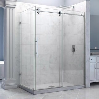DreamLine Enigma 36 x 60.5 inches Fully Frameless Sliding Shower Enclosure