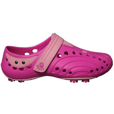 Women's Dawgs Pink Golf Shoe