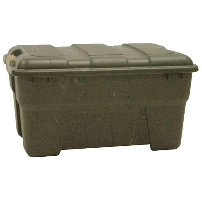 Richell 56-quart Camo Green Outdoor Storage Box