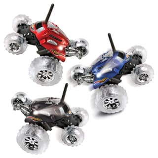 Blue Hat RC Thunder Tumbler Plastic Rally Car with Flashing LED Lights|https://ak1.ostkcdn.com/images/products/6756886/P14299063.jpg?impolicy=medium