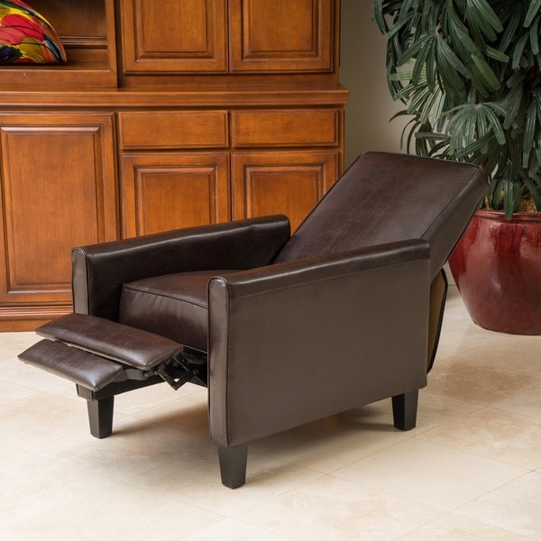 christopher knight home darvis brown bonded leather