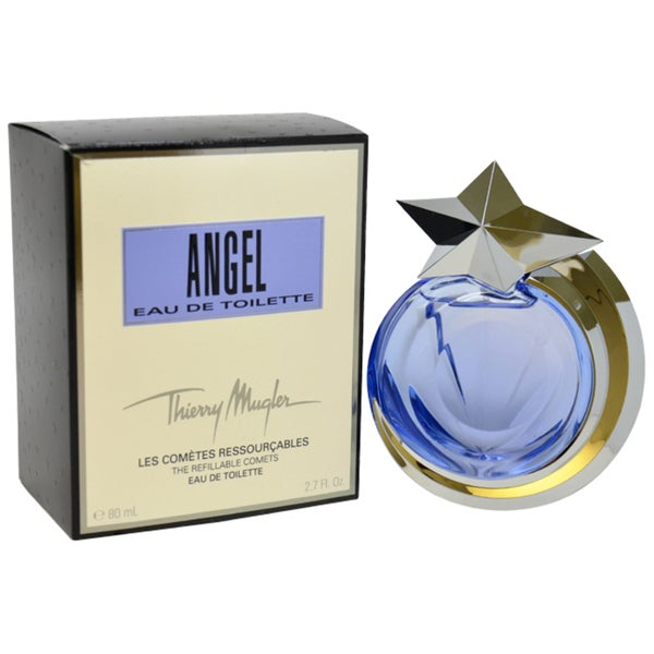 Thierry Mugler Angel Women's 2.7-ounce Eau de Toilette Spray (Refillable)