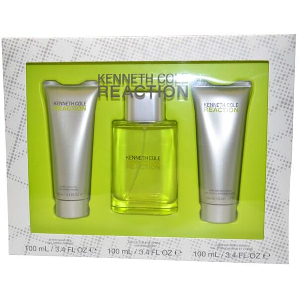 Kenneth Cole Reaction Men's 3-piece Fragrance Gift Set