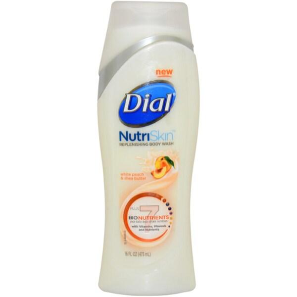 Dial NutriSkin Replenishing 16-ounce Body Wash