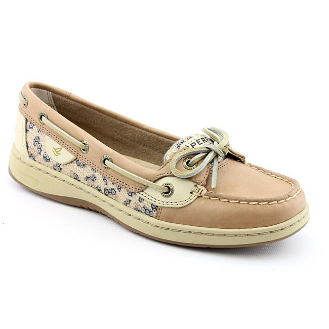 Sperry Top Sider Women's Angelfish Beige Casual Shoes