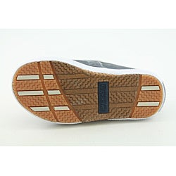 Sperry Top Sider Boys Halyard Medium-Width Blue/ Navy Blue Casual Shoes - Thumbnail 1