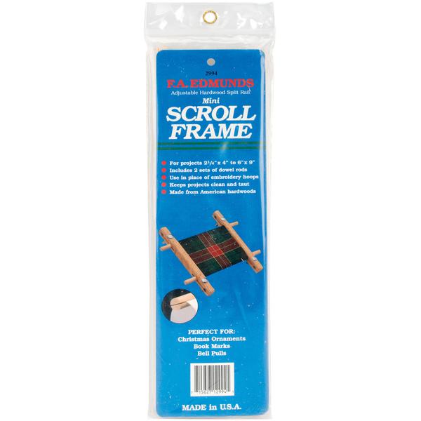 Split Rail Mini Scroll Frame