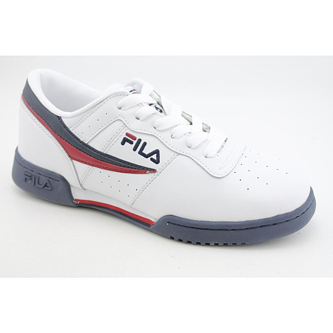 Fila Men's Original Fitness White Casual Shoes