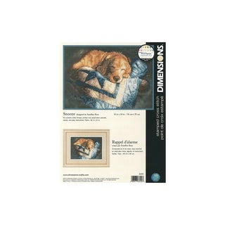 Dimensions Cross Stitch Kit 14x10 Snooze