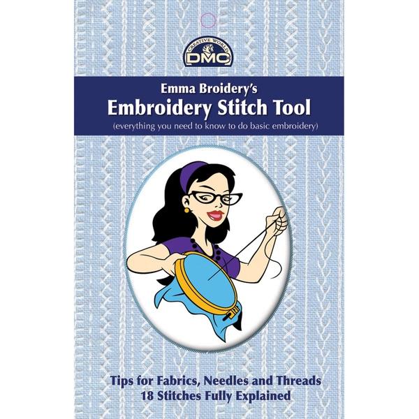 DMC Books-Emma Broidery's Embroidery Stitch Tool