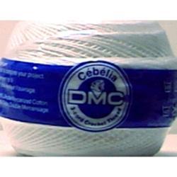 Cebelia Crochet Cotton Size 20 - 405 Yards-Bright White