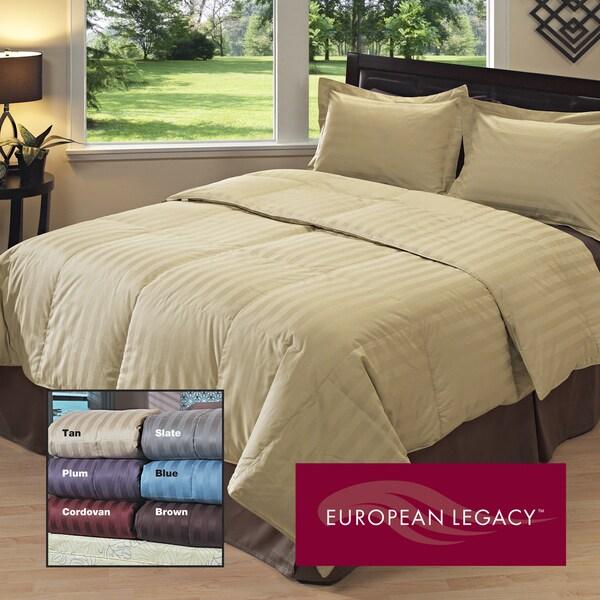 European Legacy Luxury Down-like Comforter/ Sham Set