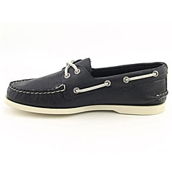 Sperry Top Sider Men's A/O 2 Eye Black Casual Shoes (Size 8.5)
