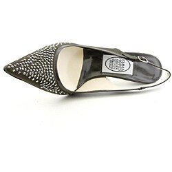 Emma Hope's Shoes Women's Strass Brown Dress Shoes
