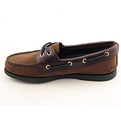 Sperry Top Sider Men's A/O Brown Casual Shoes (Size 7.5) - Thumbnail 1