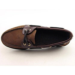 Sperry Top Sider Men's A/O Brown Casual Shoes (Size 7.5) - Thumbnail 2