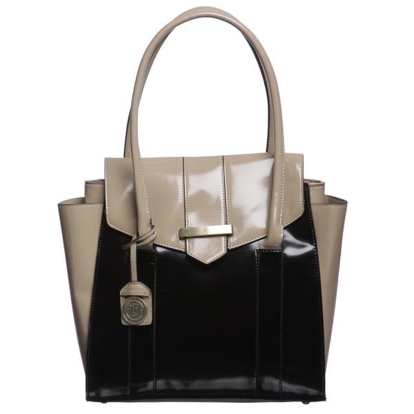 London Fog Salem Colorblock Tote Bag