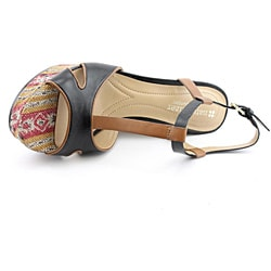 Naturalizer Women's Sherrie Black Sandals
