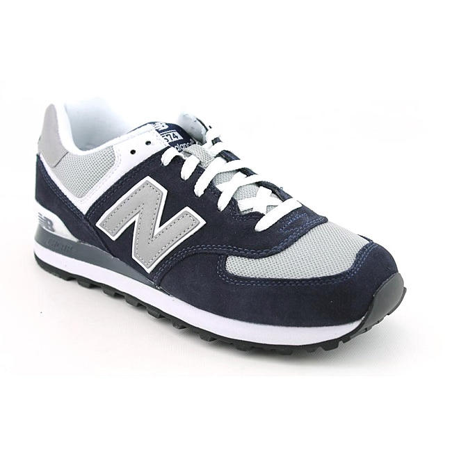 New Balance Men's M574 Blue, Navy Blue Athletic