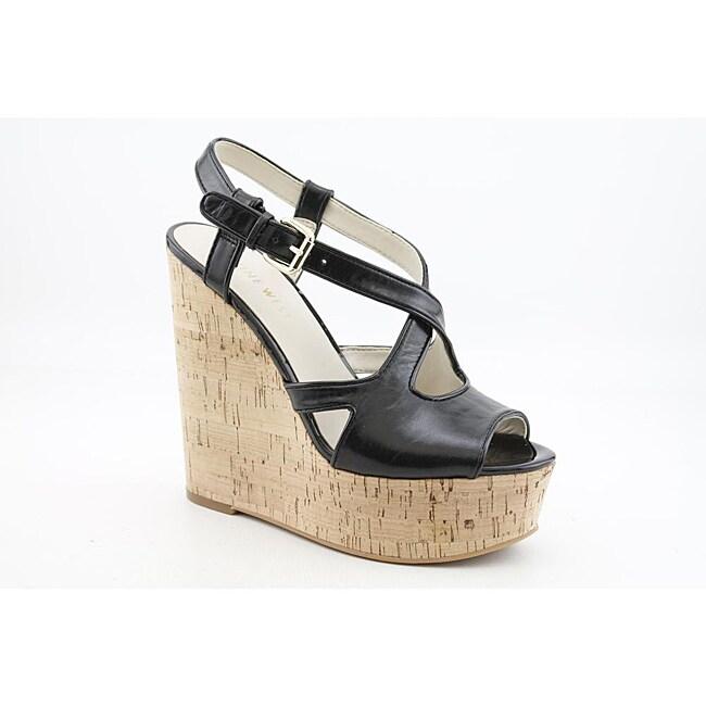 Nine West Women's Boushie Black Sandals