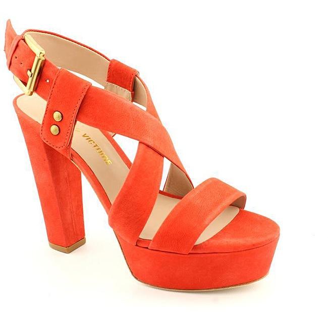 Pour La Victoire Women's Nealla Orange Sandals