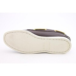 Sperry Top Sider Women's A/O 2 Eye Brown Casual Shoes Wide - Thumbnail 1