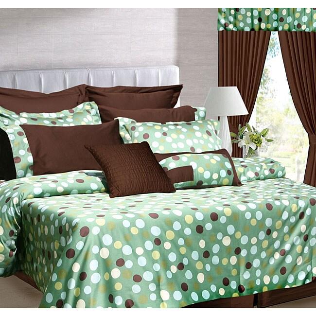Dubai 12-piece Bed in a Bag with Deep Pocket Sheet Set