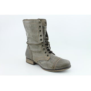 Steve Madden Women's Troopa Gray Boots