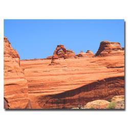 Ariane Moshayedi 'Red Rock' Gallery-Wrapped Canvas Art