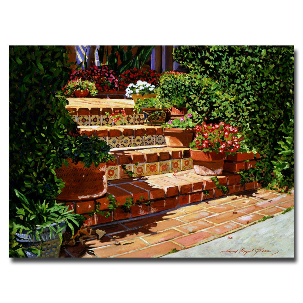 Shop David Glover \'A Spanish Garden\' Canvas Art - On Sale - Free ...