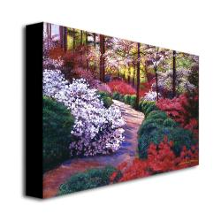 David Lloyd Glover 'April Beauties' Gallery-Wrapped Canvas Art - Thumbnail 1