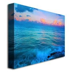 Preston 'St. Marten's Sunset' Canvas Art