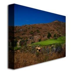 'Golf 2' Canvas Art - Thumbnail 1