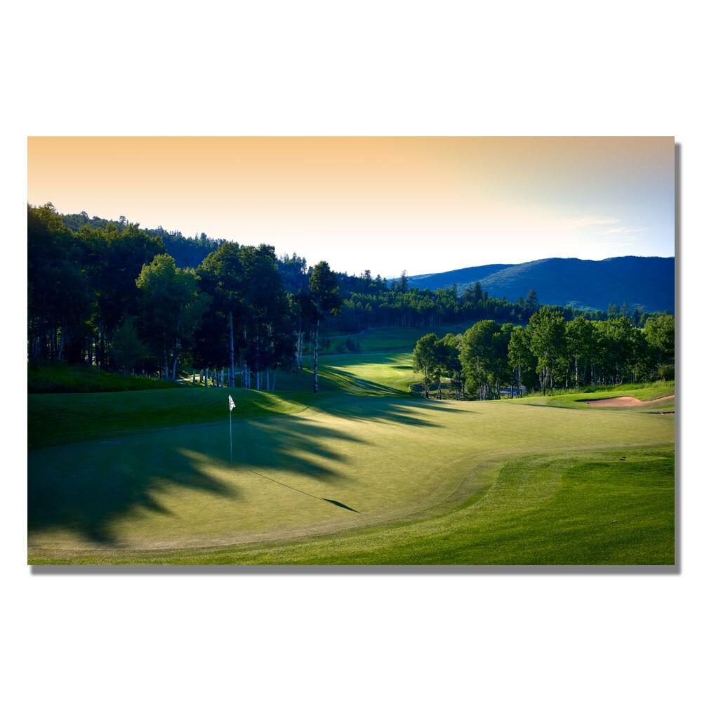 'Golf 4' Canvas Art