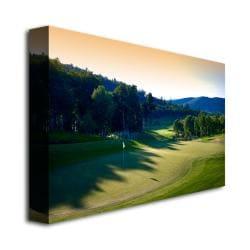 'Golf 4' Canvas Art - Thumbnail 1