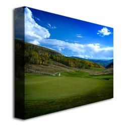 'Golf 5' Contemporary Canvas Art