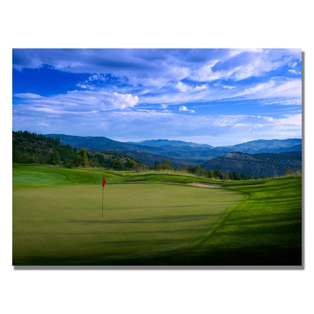 'Golf 11' Canvas Art