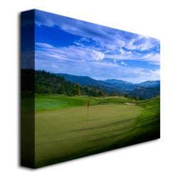 'Golf 11' Canvas Art - Thumbnail 1