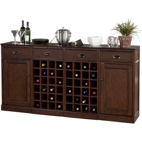 Copper Grove Primula 4-piece Modular Bar/ Wine Storage Set