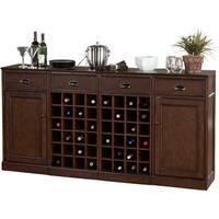 Gracewood Hollow Demaci 4-piece Modular Bar/ Wine Storage Set
