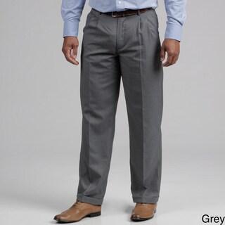 Francesco Bianchi Men's Gabardine Pleated Dress Pants
