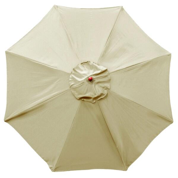 Shop Bond 9 Foot Natural Market Umbrella On Sale Free