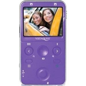 "VistaQuest VQ-9100 Digital Camcorder - 2.4"" LCD - Purple"