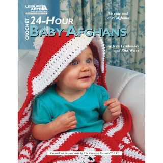 Leisure Arts-24-Hour Baby Afghans